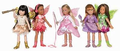 Luna Deluxe Kruseling Doll Set - Kathe Kruse group fairies