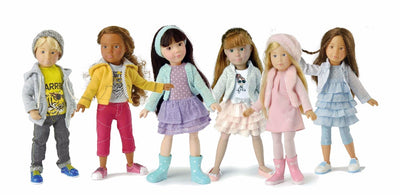 Chloe Deluxe Kruseling Doll Set - Kathe Kruse group children
