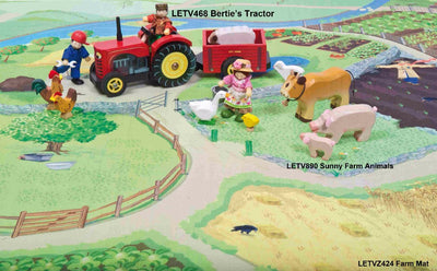 Farm Playmat Le Toy Van play