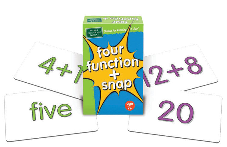 Four Functions Snap Cards