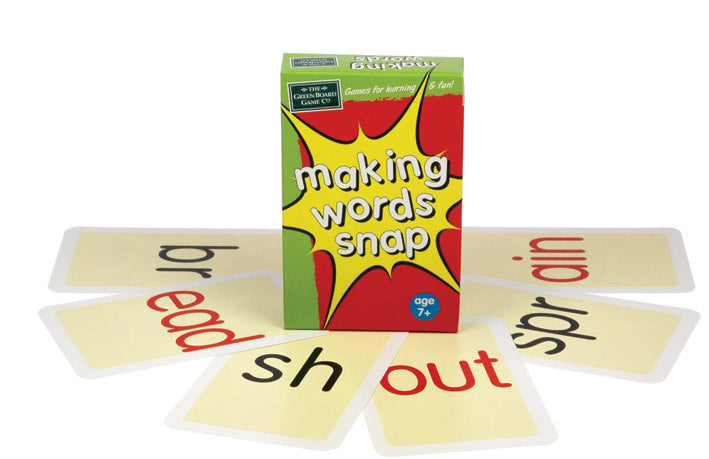 Making Words Snap Cards