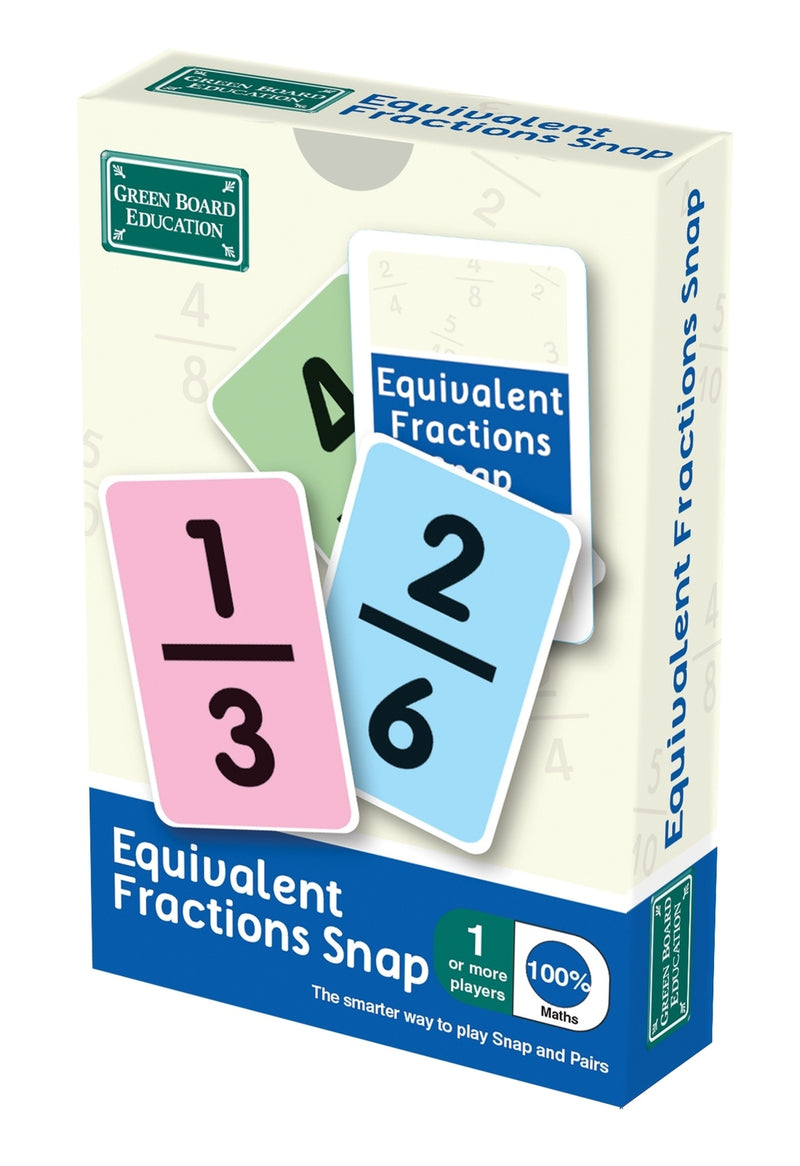 Eqivalent Fractions Snap Cards