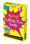 My 1st Substraction Snap Cards