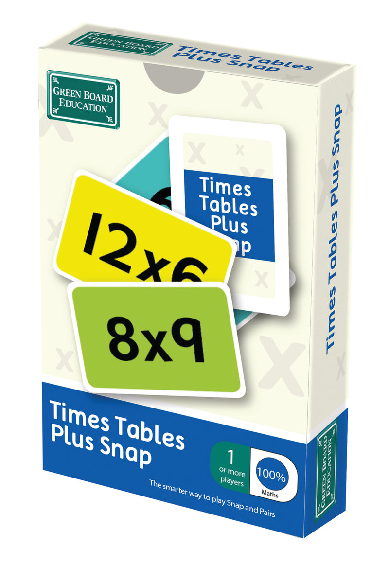 Times Tables Plus Snap Cards