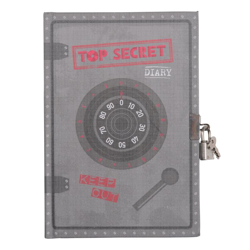 Top Secret Lockable Diary - Tiger Tribe