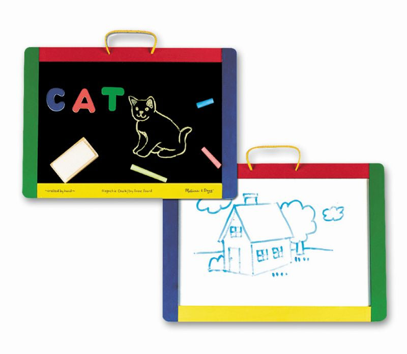 Magnetic Chalk and Dry-Erase Board - Melissa and Doug