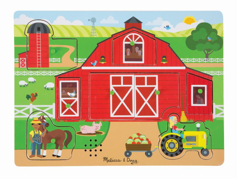 Around the Farm Sound Puzzle - Melissa and Doug