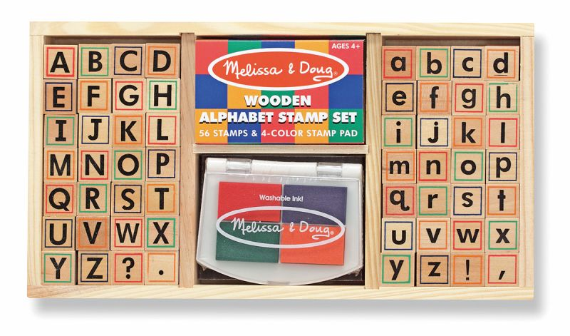 Alphabet Stamp Set - Melissa and Doug