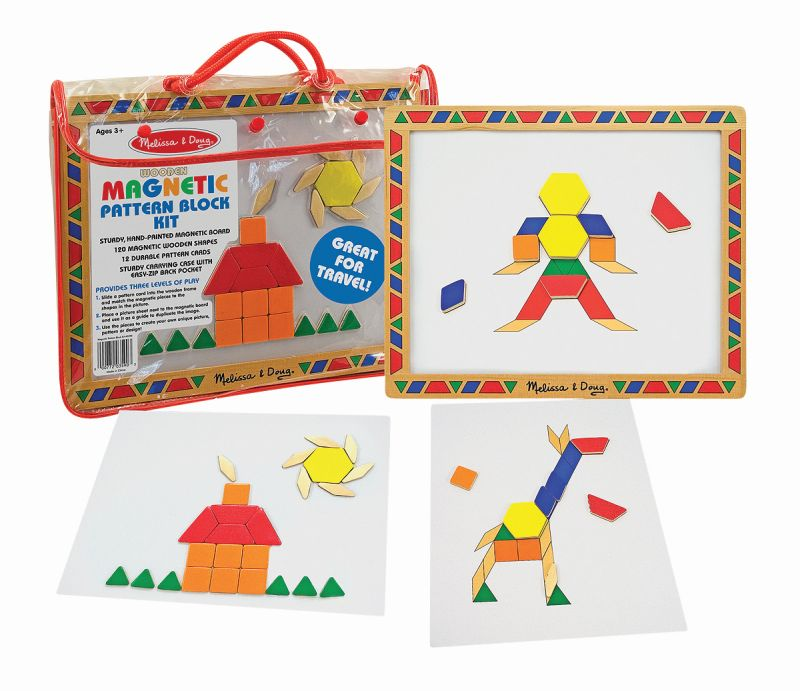 Magnetic Pattern Block Kit - Melissa and Doug