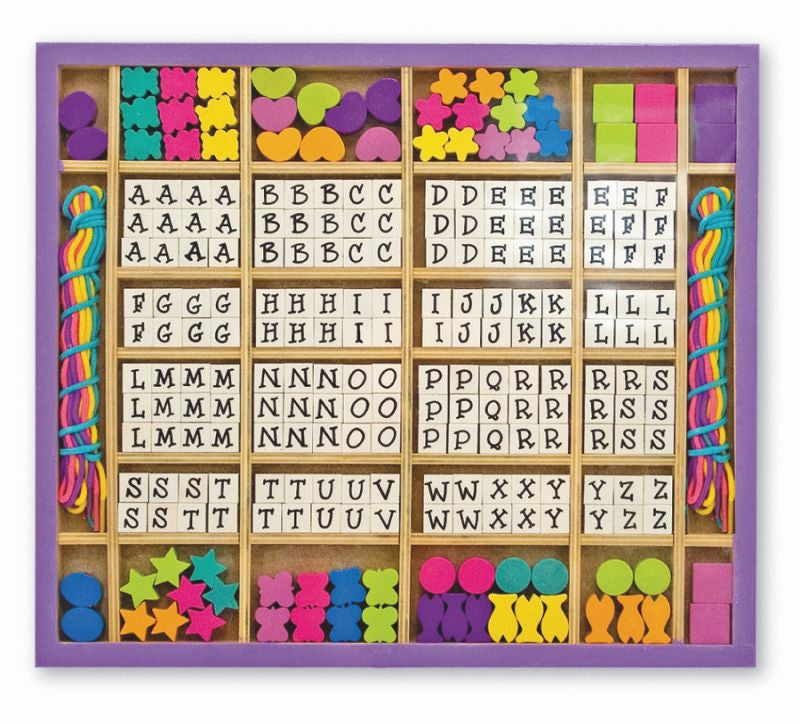 Wooden Stringing Beads - Melissa and Doug