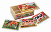 Farm Jigsaw Puzzles in a Box - Melissa and Doug