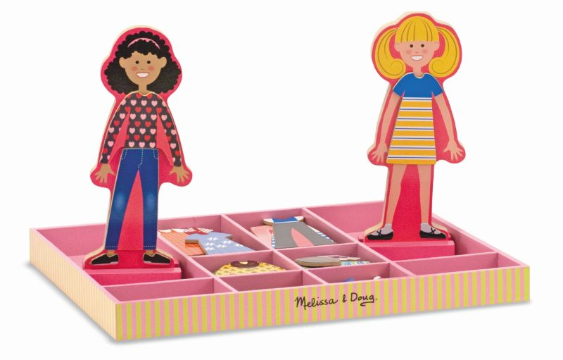 Abby and Emma Magnetic Dress Up - Melissa and Doug