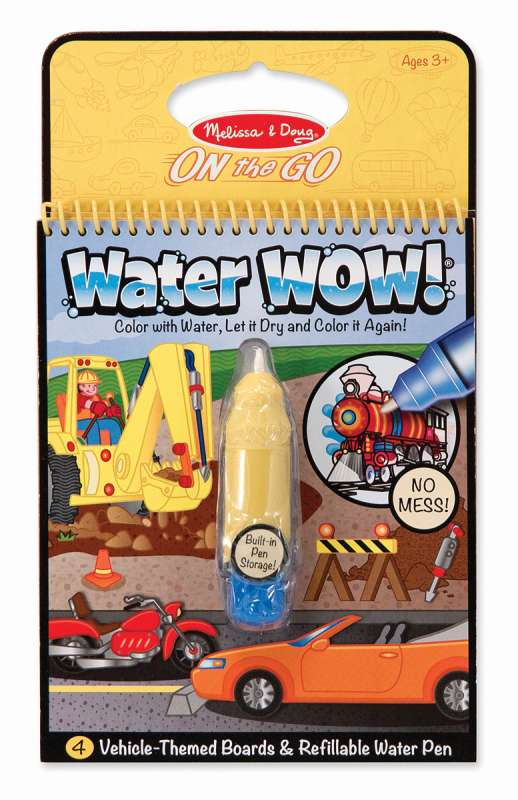 Vehicles Water WOW On The Go - Melissa and Doug