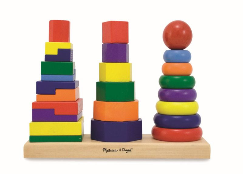 Geometric Stacker - Melissa and Doug