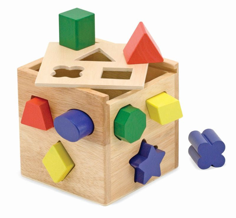 Shape Sorting Cube - Melissa and Doug