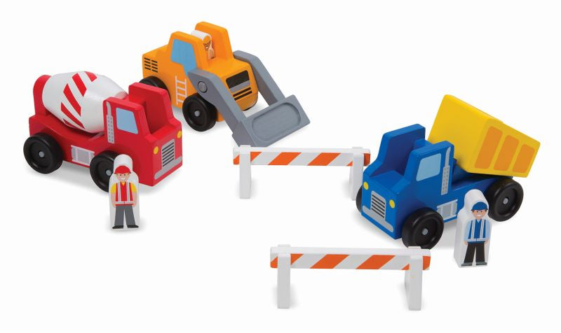 Construction Vehicle Set - Melissa and Doug