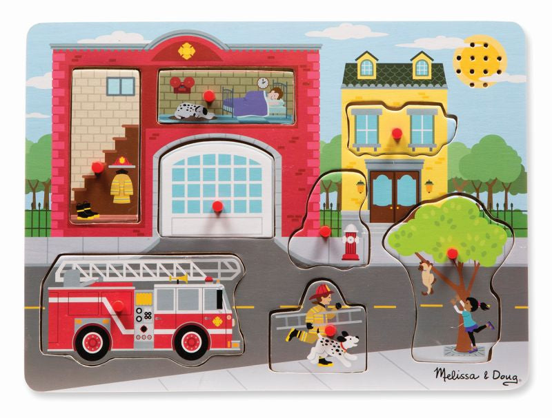 Fire Station Sound Puzzle - Melissa and Doug