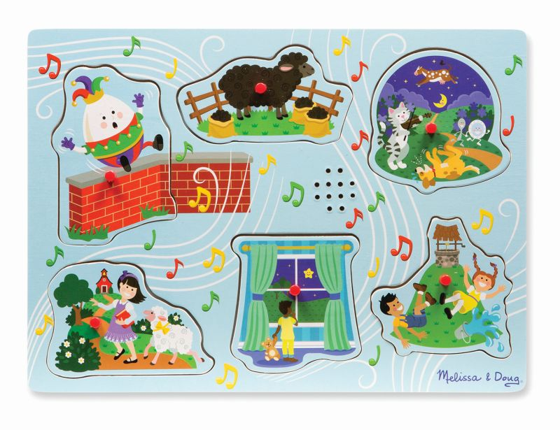 Nursery Rhymes Humpty Sound Puzzle - Melissa and Doug