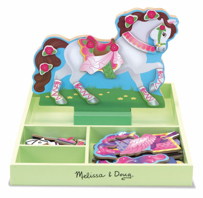 My Horse Clover Magnetic Dress Up - Melissa and Doug
