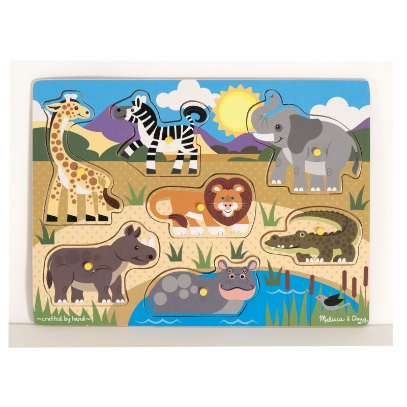 Safari Peg Puzzle - Melissa and Doug