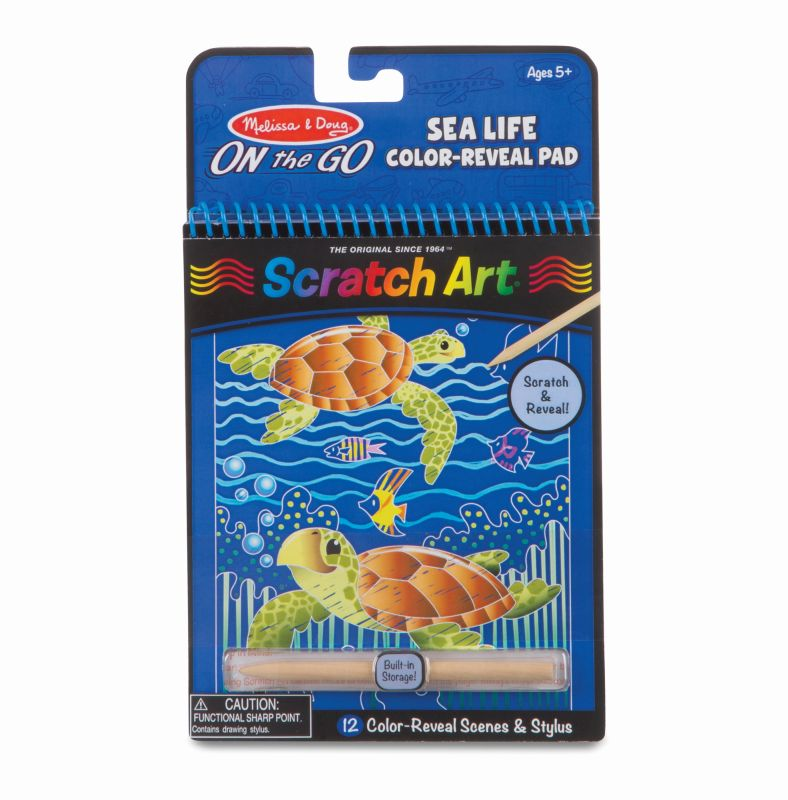 Sealife Scratch Art - Melissa and Doug