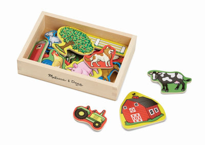 Wooden Farm Magnets 20pc - Melissa and Doug
