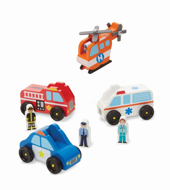 Emergency Vehicle Set - Melissa and Doug