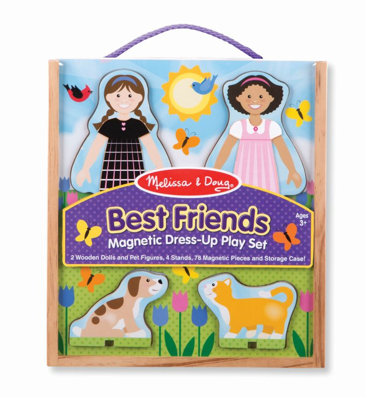 Best Friends Magnetic Dress-Up - Melissa and Doug