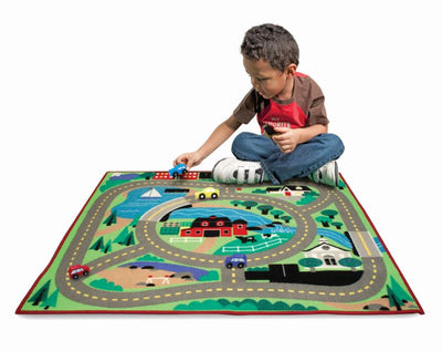Around the Town Play Rug and Vehicles - Melissa and Doug