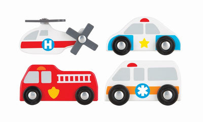 City Rescue Play Rug and Vehicles - Melissa and Doug