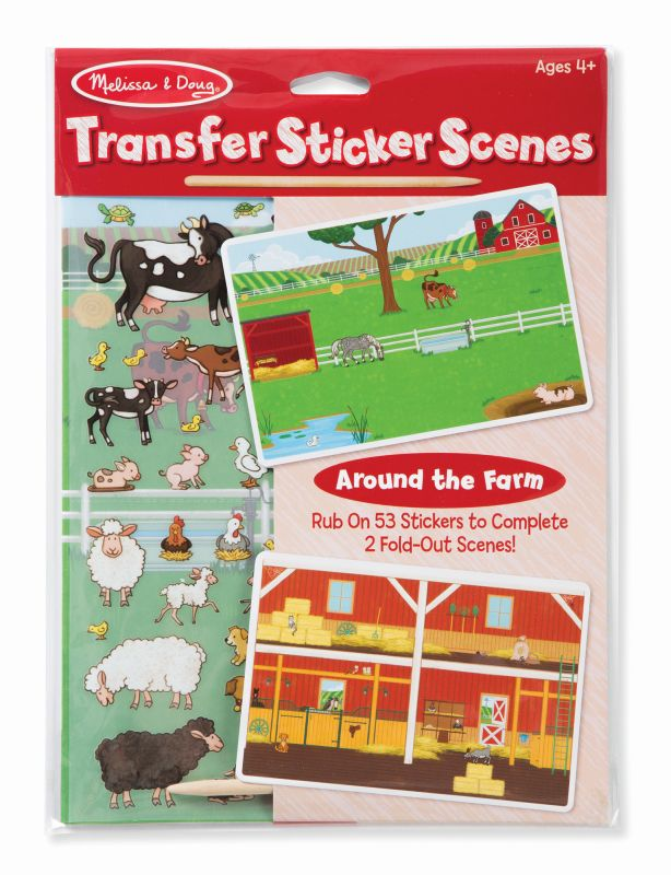 Farm Transfer Sticker Scenes - Melissa and Doug