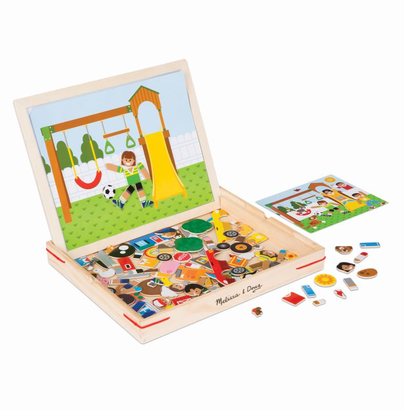 Wooden Magnetic Picture Game - Melissa and Doug
