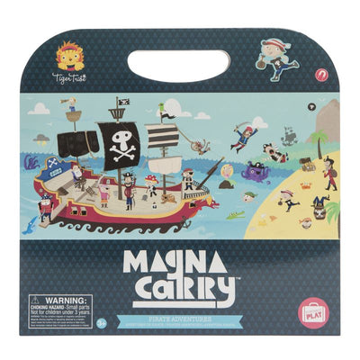 Pirate Adventure Magna Carry - Tiger Tribe