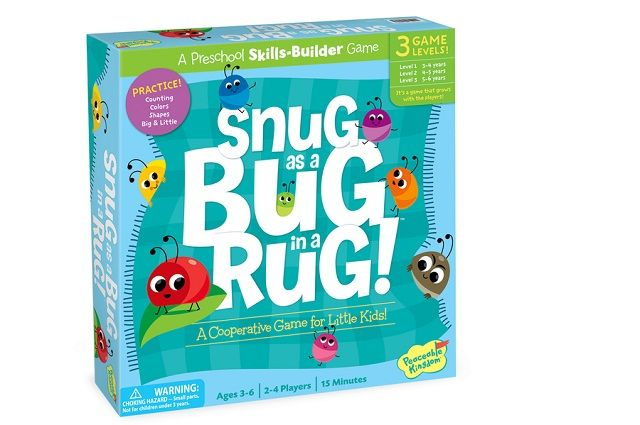 Snug as a Bug in a Rug! - Peaceable Kingdom