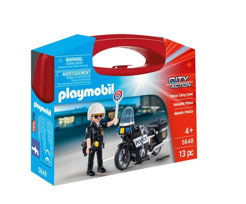Police Carry Case - Playmobil