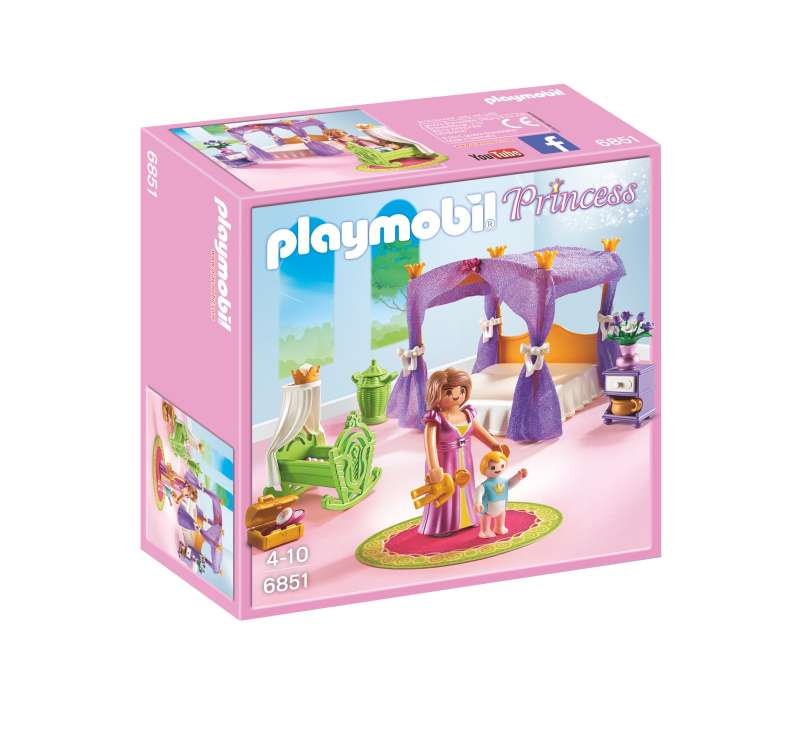 Princess Chamber with Cradle - Playmobil