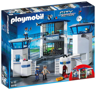 Police Headquarters with Prison - Playmobil box