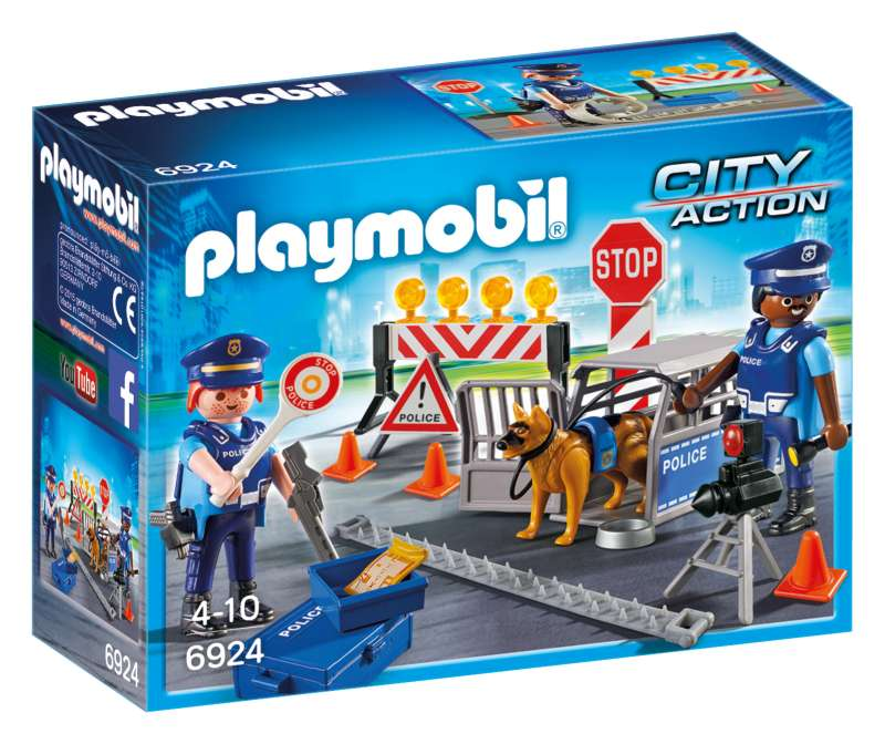 Police Roadblock - Playmobil