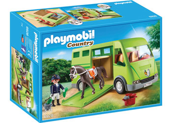 Horse Transporter - Playmobil - box