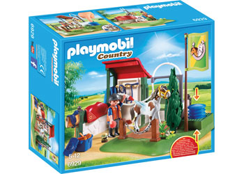 Horse Grooming Station - Playmobil - box