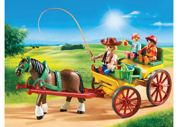 Horse-Drawn Wagon - Playmobil