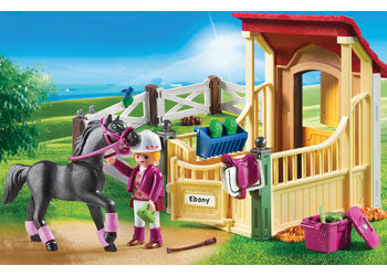Horse Stable with Arabian Horse - Playmobil