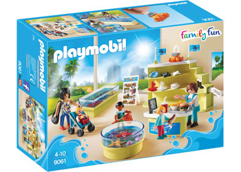 Aquarium Shop - Playmobil - box