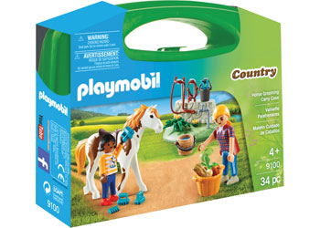 Horse Grooming Carry Case - Playmobil