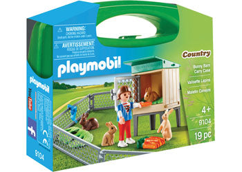 Bunny Barn Carry Case - Playmobil