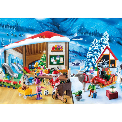Santas Workshop Advent Calendar - Playmbobil
