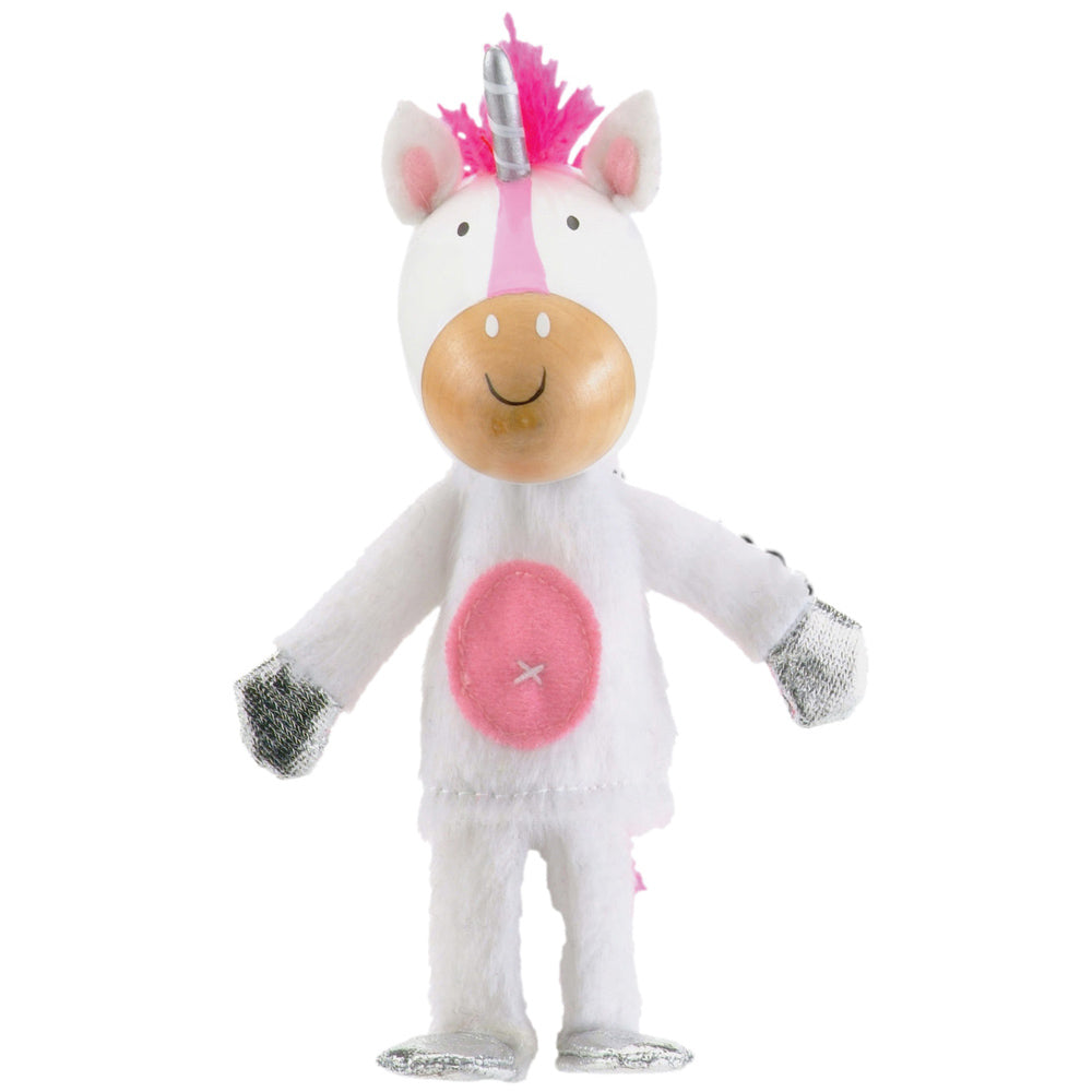 Unicorn Finger Puppet - Fiesta Crafts