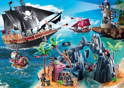 Pirates Raiders Ship - Playmobil