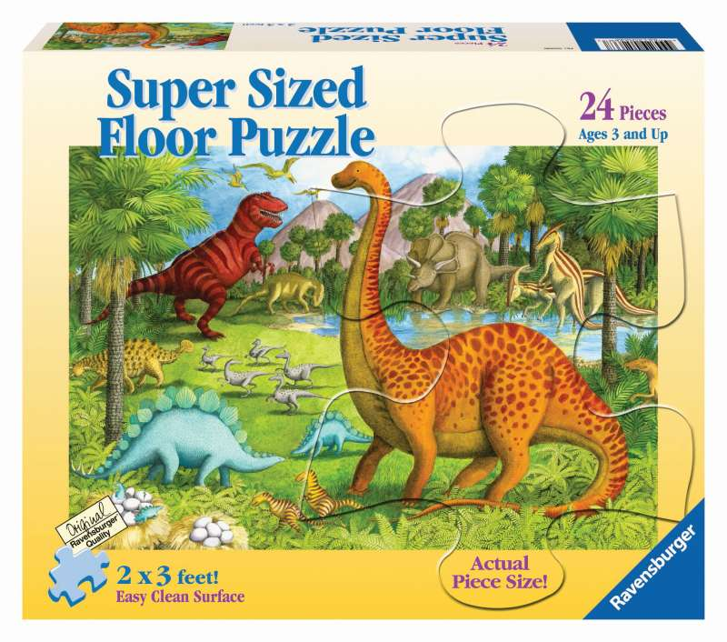Dinosaur Pals Supersize Puzzle 24pc - Ravensburger