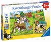 Cats and Dogs 3x49pc Puzzles - Ravensburger